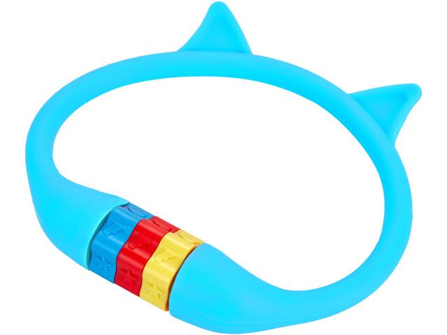 Cube RFR HPS Cijfer Kabelslot Kat Kinderen, blauw